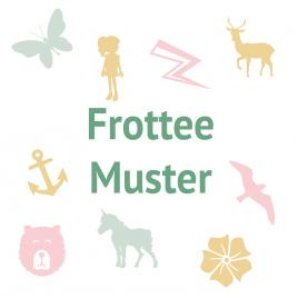 Frottee Muster