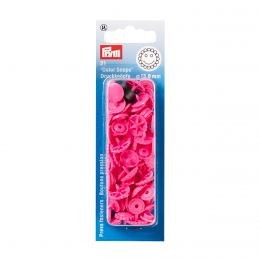 Prym Love Color Snaps Blume Pink