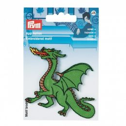 "Prym Applikation ""Drache"" Grün"