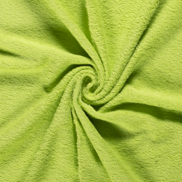 Frottee Uni Lime