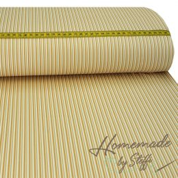 Baumwolle Darling Double Stripes Sand