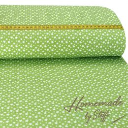 Baumwolle Darling Little & Small Stars Lime