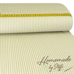 Baumwolle Darling Double Stripes Beige