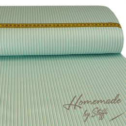Baumwolle Darling Double Stripes Hellmint