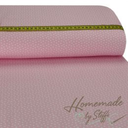 Baumwolle Small Hearts Rosa
