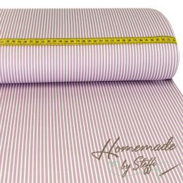 Baumwolle Stripes Flieder