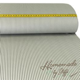 Baumwolle Stripes Grau