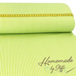 Baumwolle Stripes Lime