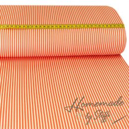 Baumwolle Stripes Orange