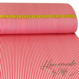 Baumwolle Stripes Pink
