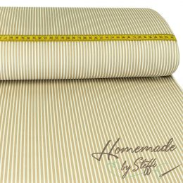 Baumwolle Stripes Sand