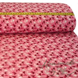 Baumwolle Triangles Rosa
