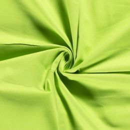 Baumwolle Canvas Uni Lime
