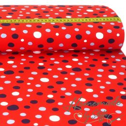 Jersey Colour Dots auf Rot