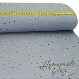 Jersey Dots Allover auf Orchidee