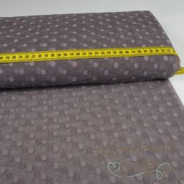 Soft Tüll Big Dots Taupe
