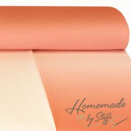 Sommersweat Ombre Lachs/Rosa Digital