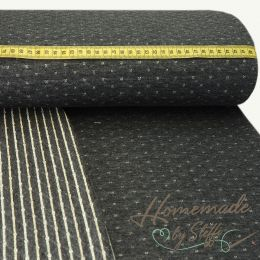 Steppsweat Quilt Double Face Anthrazit/Gold